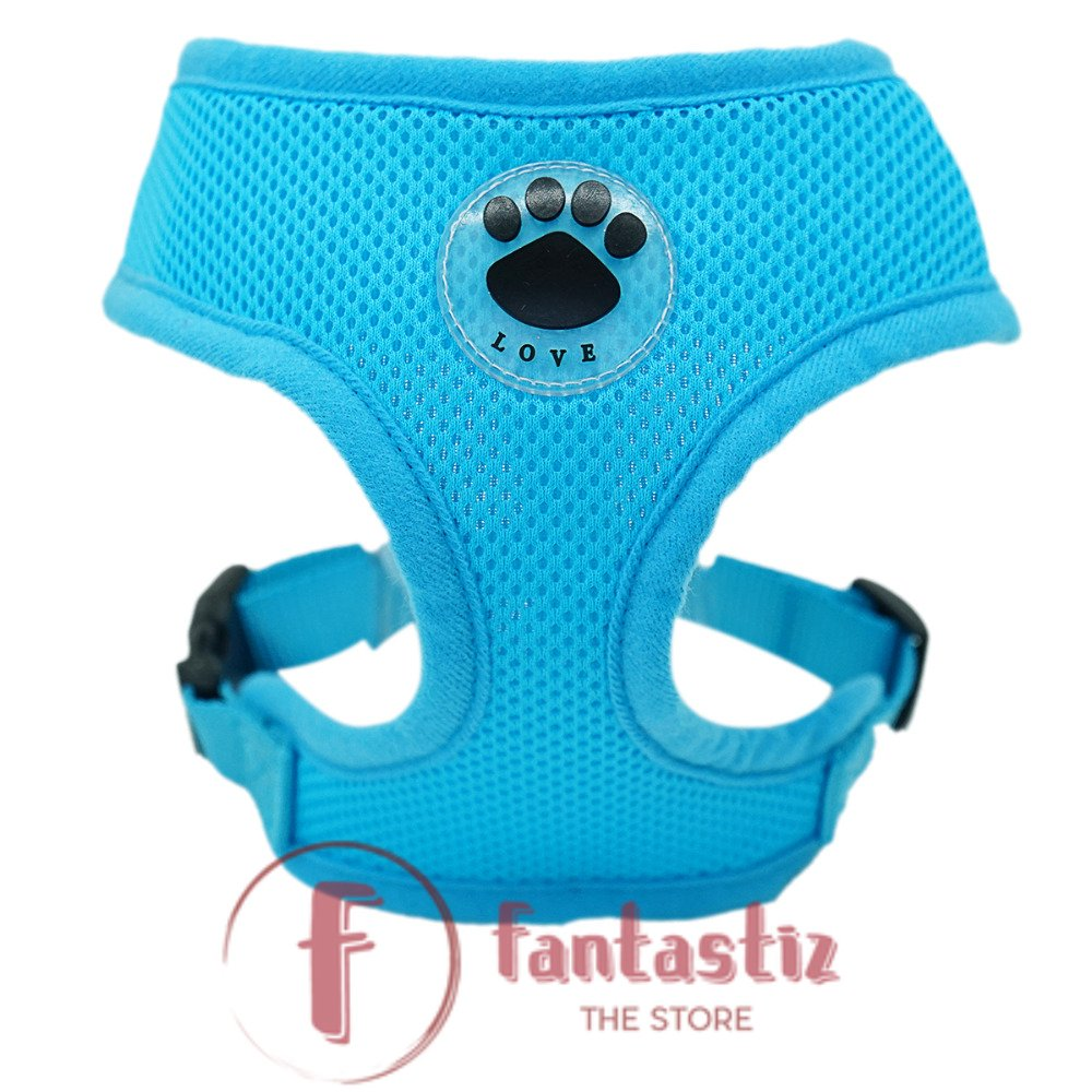 Pet Vest Harness color blue