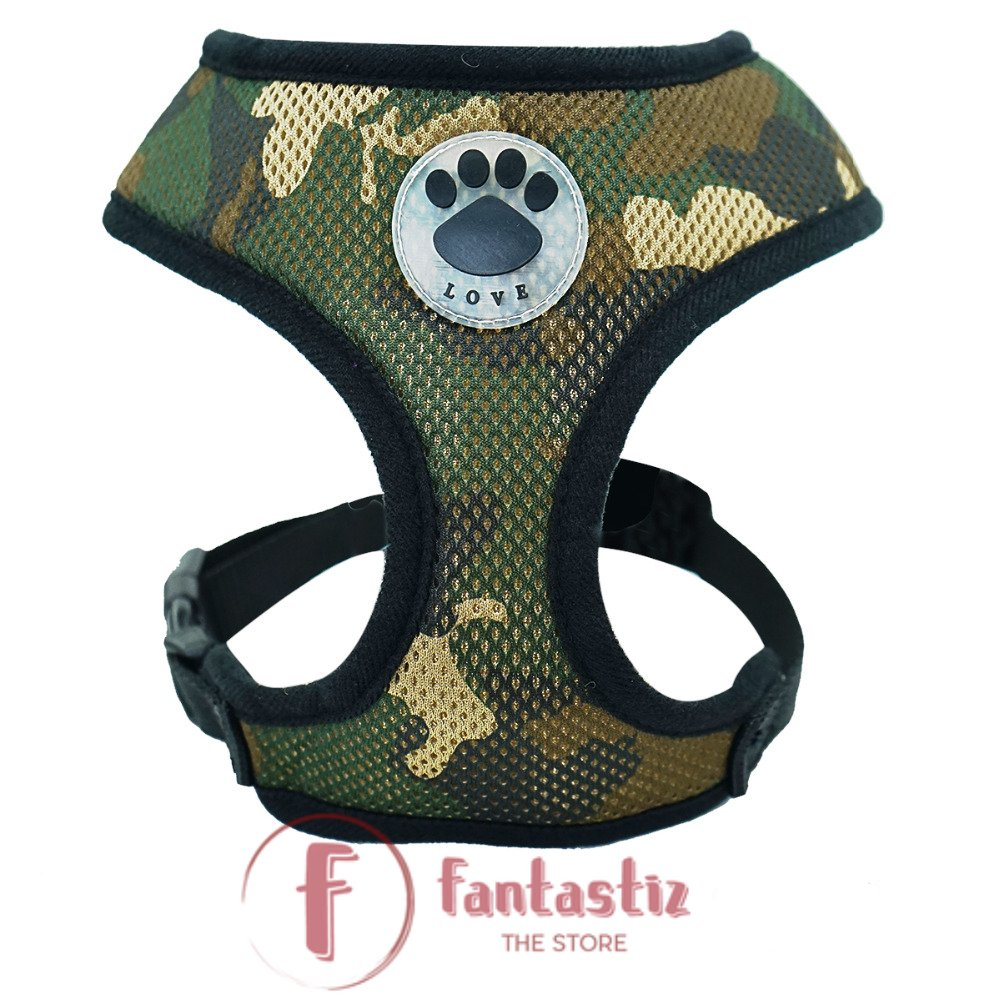 Pet Vest Harness color camouflage