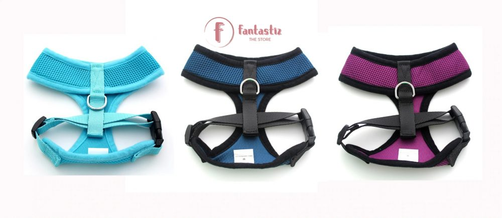 Pet Vest Harness back side