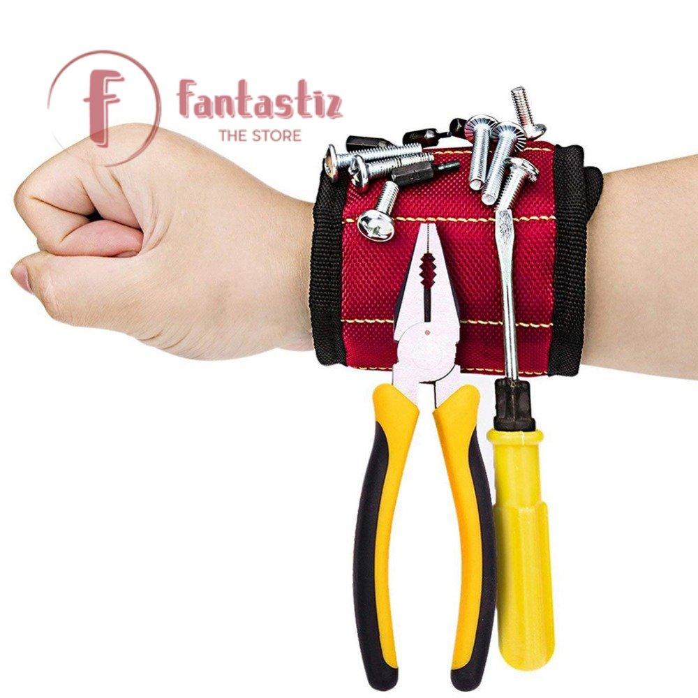 Magnetic Wristband Tool on Fantastiz