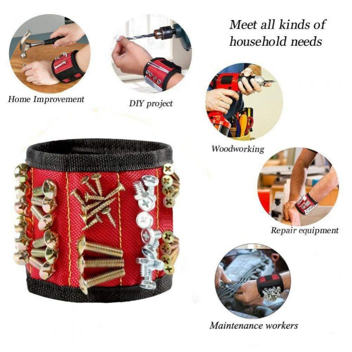 The Magnetic Wristband is suitable for any project