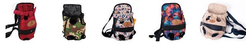 Pet Carrier Backpack color variations